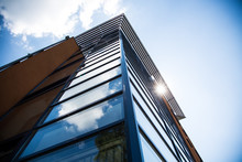 Residential Building With Glas...