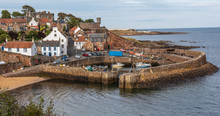 Crail Harbour On The East Coas...