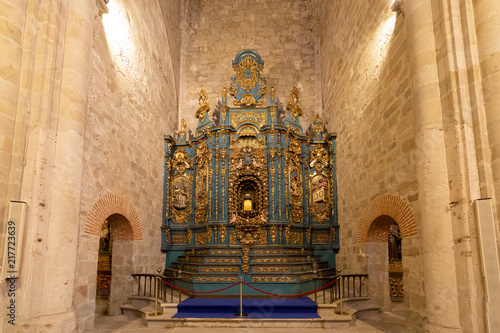 Fotografie, Obraz  Altarpiece at the cathedral in Plasencia, Caceres, Spain