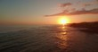 Sunset on the beach of Hawaii