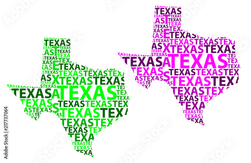 Purple America Map.Sketch Texas United States Of America The Lone Star State Letter
