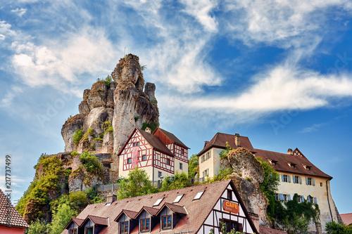 Felsburg und Geotop Tüchersfeld