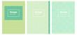 Light Blue, Green vector pattern for magazines.