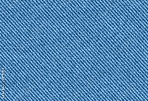 Recess Fitting Pattern vector background of blue jeans denim texture