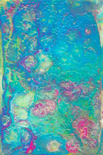 Fluid Art Light Abstraction. Colorful Bright Artwok. Multicolored Paint Stains. Stone Texture. Colorful Light Grunge Wall. Textured Old Wall
