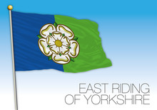 East Riding Of Yorkshire Flag,...