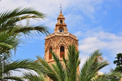 Torre del Miguelete tower, Valencia, Spain