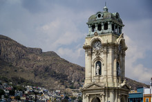 Torre De Reloj En Pachuca, Hid...