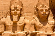 The Temple Of Abu Simbel In Eg...