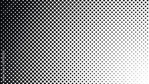 Obraz na plátně  Vector halftone design