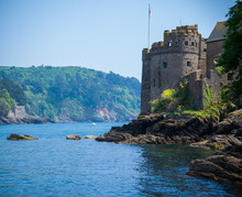 Kingswear And Dartmouth Castle, Devon, United Kingdom, May 24, 2018