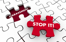 Harassment Stop It Sexual Inju...