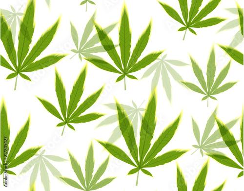 marihuana-liscie