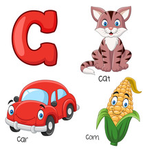 Illustration Of C Alphabet
