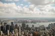 Um horizonte de Manhattan - NY - USA