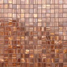Small Brown Mosaic Tiles Background