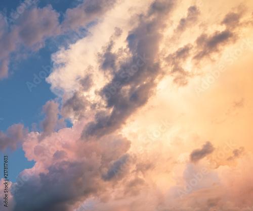 Canvas Prints Heaven dramatic sky
