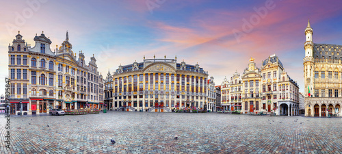 Papiers peints Bruxelles Panorama of Brussels, Belgium
