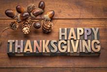 Happy Thanksgiving Greeting Ca...