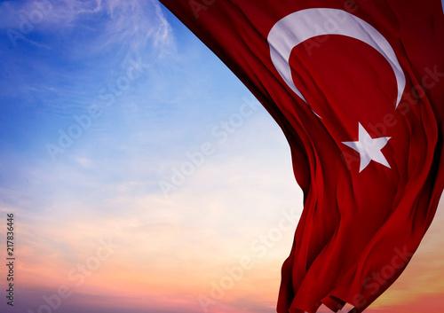 Fotomural  Türkiye Bayrağı - Türkiye