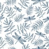 Floral seamless pattern.  - 217840249