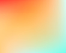 Vector Yellow Orange Blue Gradient