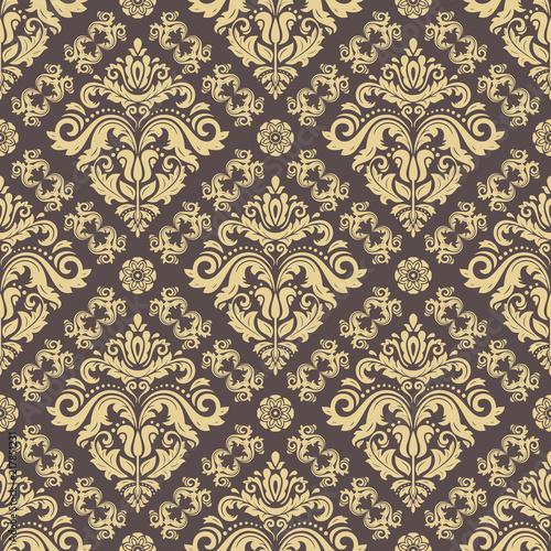 klasyczny-wzor-bez-szwu-tradycyjny-orient-ornament-imitacja-zlotego-klasyczne-tlo