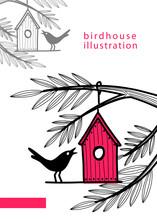 Birhouse Illustration