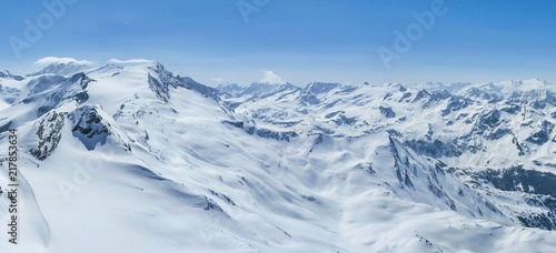 Winter Alps panorama #217853634