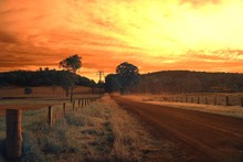 Australian Country Road Nabiac...