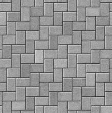 Herringbone Pattern Paving Seamless Texture