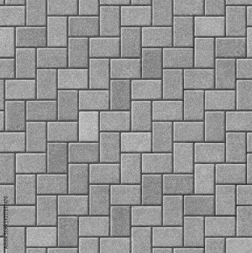 Photo Herringbone pattern paving seamless texture