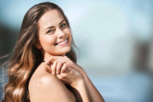 Fotografie, Obraz  Beautiful casual young woman