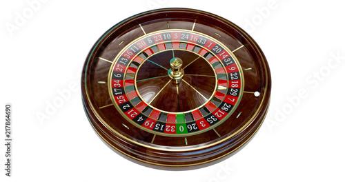 Fototapety, obrazy: Casino roulette wheel.