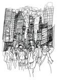Times Square w Nowym Jorku - 217865881