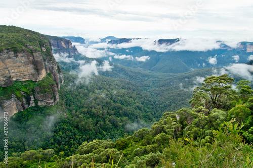 Fényképezés Govetts Leap Lookout.  Blue Mountains in Australia.