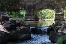 Ancient Stone Bridge Over The ...