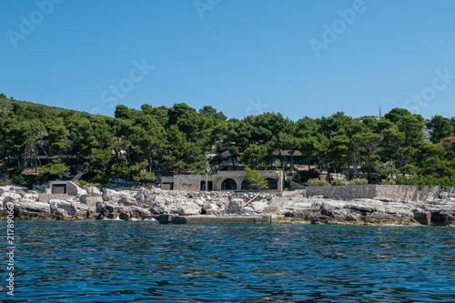 Foto op Plexiglas Kust Croatia, on the Adriatic coast