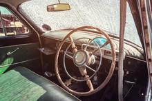 Salon Of The Old Retro Car