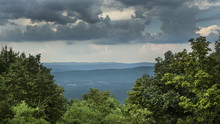 Mountain View From High Point, Storm Clouds