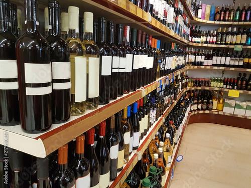 wine wines store drinks bottles on shelf