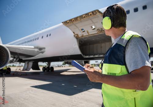 Fotografía Aircraft ground handling