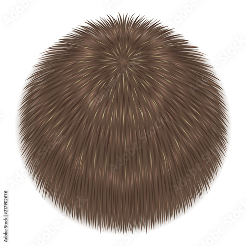 Vector fur sphere