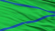 Patia  Closeup Flag, City Of C...