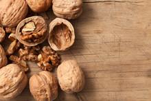 Walnuts Healthy Fruit Rustic Still Life