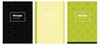 Light Green, Yellow vector pattern for magazines.