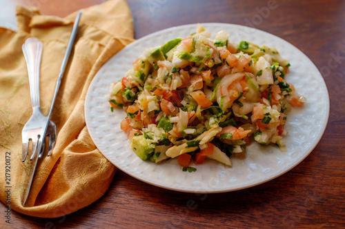 Peruvian Shrimp Ceviche
