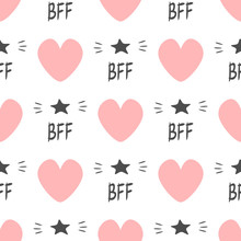 Cute Seamless Pattern With Rep...