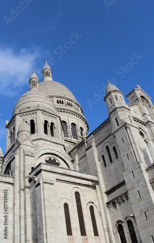 Poster  Close-up of The Basilica of the Sacré-Cœur of Jesus