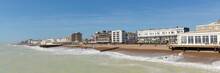 Worthing Seafront West Sussex Panoramic View